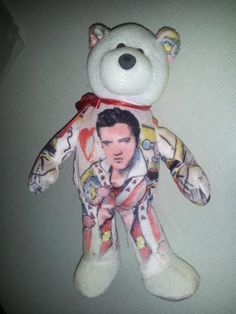 The King of Rock n Roll Elvis Presley beanie baby by Limited Treasures 65fadde2599