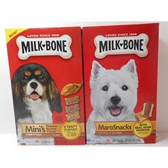 Milk Bone 15 oz Pkg Maro Snacks & Milk Bone 15 oz Mini's Variety Pack (Peanut Butter, Bacon & Peanut Butter, and Peanut Butter & Honey) Both are for dogs of all sizes - Bundle @@@ You could get more details by clicking on the image. (This is an affiliate link and I receive a commission for the sales)