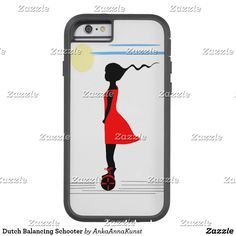 Dutch Balancing Schooter Tough Xtreme iPhone 6 Hoesje