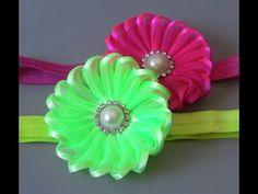 Novo modelo de flor super diferente- Passo a Passo - Flower tapes - YouTube