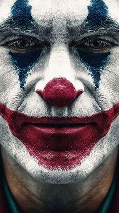 Joker 2019 Joaquin Phoenix Clown Makeup HD Mobile, Smartphone and PC, Desktop. - Joker 2019 Joaquin Phoenix Clown Makeup HD Mobile, Smartphone and PC, Desktop… – Cultura Joker Comic, Le Joker Batman, Joker Film, Der Joker, Joker Art, Joker And Harley, Black Joker, Joker Clown, Joker Iphone Wallpaper