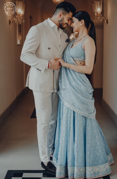 wedding Couple outfits - This Couple's Pre-wedding Look will Calm your Hearts like Never Before! Couple Wedding Dress, Wedding Couple Photos, Indian Wedding Pictures, Wedding Dresses, Couple Photoshoot Poses, Pre Wedding Photoshoot, Poses For Couples, Photoshoot Ideas, Pre Wedding Poses