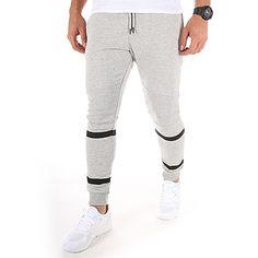 4fa3a186f5b Jack And Jones - Pantalon Jogging Dual Gris Chiné