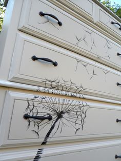 This is exactly what I want to do with my daughters dresser