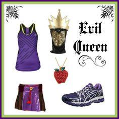 Disney Villain Running Costume Ideas- Evil Queen