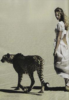 "Marloes Horst in ""Under African Skies"" by Will Davidson for Harper's Bazaar Australia April 2012.  (Source: dormanta, via beverleyshiller)"