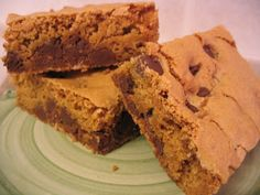 Gluten Free Betty: Gluten Free Blondies.  This is the recipe I use to make Mom's Butter Pecan Bars.  Instead of the choc chips, use 1 cup pecan chips.