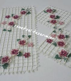 Crochet Art, Irish Crochet, Crochet Doilies, Weaving Patterns, Baby Knitting Patterns, Crochet Patterns, Cushion Ring, Needle Lace, Hand Embroidery
