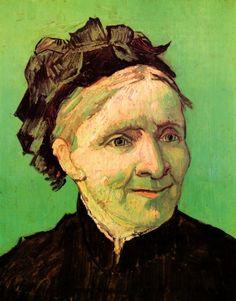 Van Gogh. Portrait of the Artist's Mother. 1888