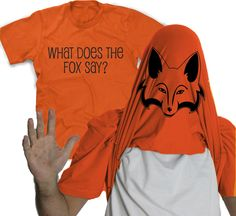 Flip What Does The Fox Say Video Shirt - $18.99 at CrazyDogTshirts.com #WhatDoesTheFoxSay