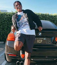Behind The Scenes By yungwatergun Black Men Street Fashion, Mens Fashion, Asap Rocky Wallpaper, Asap Rocky Fashion, Lord Pretty Flacko, A$ap Rocky, Don Juan, Fine Men, Pretty Boys