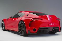 2014 Detroit Auto Show: Toyota FT-1 Concept hunting for Corvettes, Porsches, Nissan GTRs
