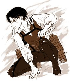 Thug Levi He had such a hard life. I feel so sorry for him. ;-;