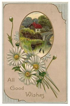 Ca 1910 Victorian Greeting Postcard w/ by pecanhillpostcards, $3.99