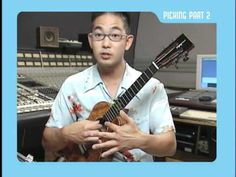 "Ukulele Strumming & Picking tutorial  by Jake Shimabukuro - Jeez... Should really be called ""Oh, you've got a ukulele? Can you do this? Didn't think so."""