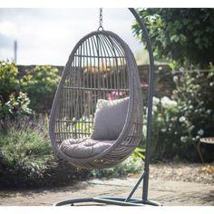 Garden Trading Outdoor Rattan Hanging Nest Chair