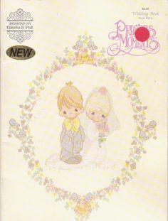 Precious Moments Wedding cross stitch designs by beththebooklady, $4.99
