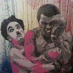 get em charlie Street Mural, Street Art Graffiti, Urban Street Art, Urban Art, Blek Le Rat, Famous Street Artists, Beaux Arts Paris, Spray Paint Art, Art Icon