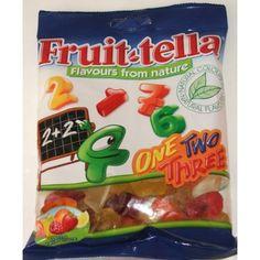 Fruit-tella One Two Three 150g Peg x 18 units