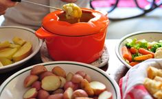 Unexpected Game Day Dish: Cheddar and Stout Fondue