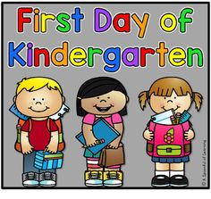 First Day of Kindergarten | A Spoonful of Learning | Bloglovin'