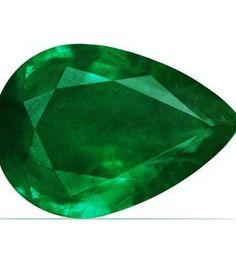 Platinum-Pear-Cut-Emerald-And-Round-Diamond-Pendant-GIA-Certificate-0-1