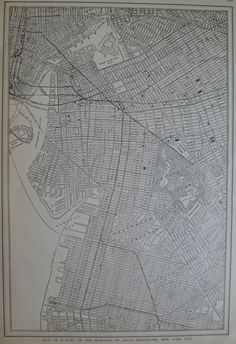 1919 Antique BROOKLYN Map of Brooklyn New York Map Black and White Gallery Wall…