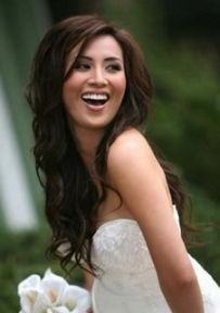 I want this wedding hair.  Love the volume and the curls.