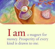 Affirmation for abundance and prosperity. Manifestation, Law of Attraction Louise Hay Affirmations, Prosperity Affirmations, Affirmations Positives, Money Affirmations, Positive Life, Positive Thoughts, Positive Quotes, Positive Attitude, Mantra