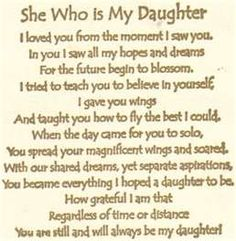 58 Best Quotes - Daughter *I love my Daughter ♥* images in