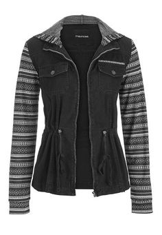 jacket with ethnic p