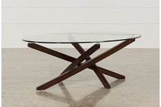 Coffee Tables Under $195 to Fit Your Home Decor | Living Spaces Oval Glass Coffee Table, Coffee Table Design, Glass Table, Coffee Table Living Spaces, Dining Table, Wood Glass, Cocktail Tables, Brisbane, Interior Design