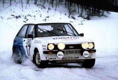 Ford Fiesta S1600 - 1979 Rallye Monte-Carlo - Ari Vatanen y David Richards
