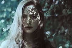 This is one of my most favorite portraits ever Portraits of Helena by Marta Bevacqua, via Behance