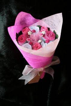 Lingerie bouquet- cute idea for a shower gift!