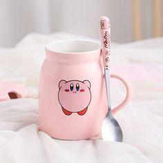 Kawaii Bedroom, Cute Kitchen, Kitchen Stuff, Cute Coffee Mugs, Cute Cups, Cute Korean, Korean Style, Cat Mug, Aesthetic Room Decor