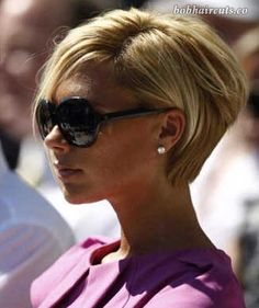 15 Victoria Beckham Blonde Bob Hairstyles #BobHaircuts
