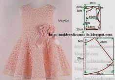 patrones para hacer vestidos de nina de 5 anos05