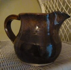 Handmade Pottery Stoneware Pitcher with by PotteryLaceNautical