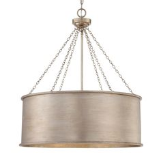 Luxe Patina Drum Shade - Large