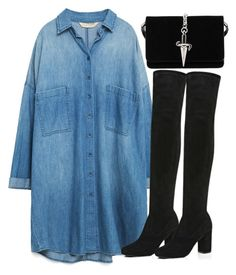 """""""Untitled #4167"""" by maddie1128 ❤ liked on Polyvore featuring Zara, River Island and Cesare Paciotti"""