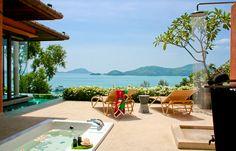 Luxury Pool Villa. Sri panwa, Phuket, Thailand. © Sri panwa Phuket