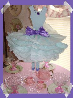 Centerpiece Ideas For Birthday Parties | Ballerina Birthday Party Supplies