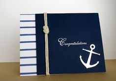 Ahoy Matey (outside) by Cindy H. - Cards and Paper Crafts at Splitcoaststampers Masculine Birthday Cards, Birthday Cards For Men, Handmade Birthday Cards, Masculine Cards, Nautical Cards, Beach Cards, Ahoy Matey, Boy Cards, Stamping Up Cards