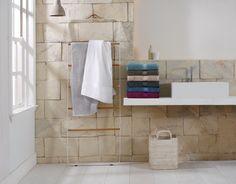 Quick drying luxury from Sheridan's latest hi-tech towel