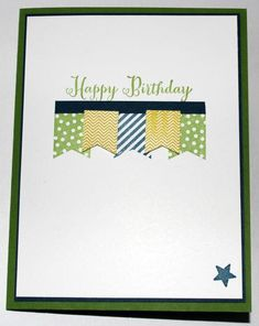 Banner Blast Birthday by gails - Cards and Paper Crafts at Splitcoaststampers