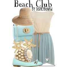 """Beach Club"" by leslieakay on Polyvore"