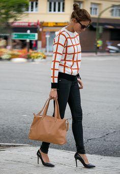 Anímate a cambiar tu típico suéter liso por uno con líneas