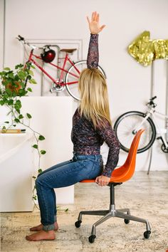 A CUP OF JO: Six stretches for people who sit at desks