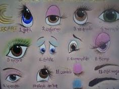 Resultado de imagem para yana dolls eyes AND how OR tutorial OR painting OR copy Painting For Kids, Fabric Painting, Painting & Drawing, Drawing Sketches, Art Drawings, Doll Face Paint, Doll Eyes, Face Design, Painting Patterns